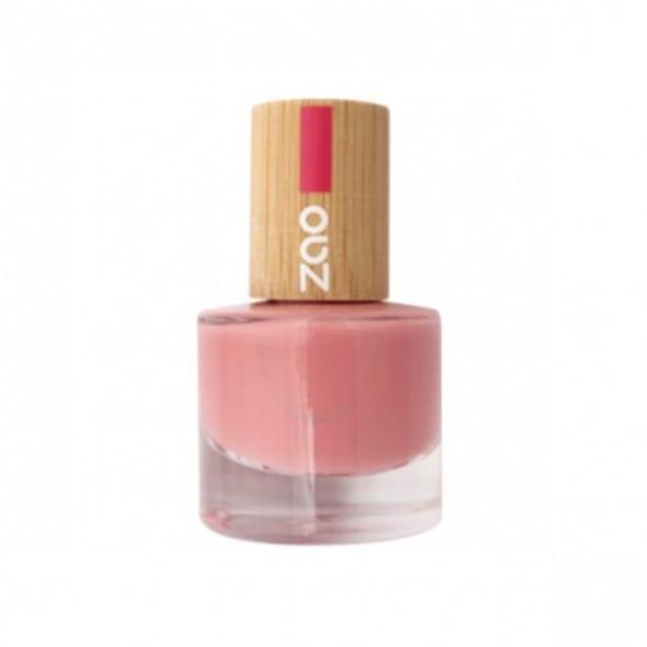 Esmalte 677 la vie en rose de uñas  - ZAO makeup