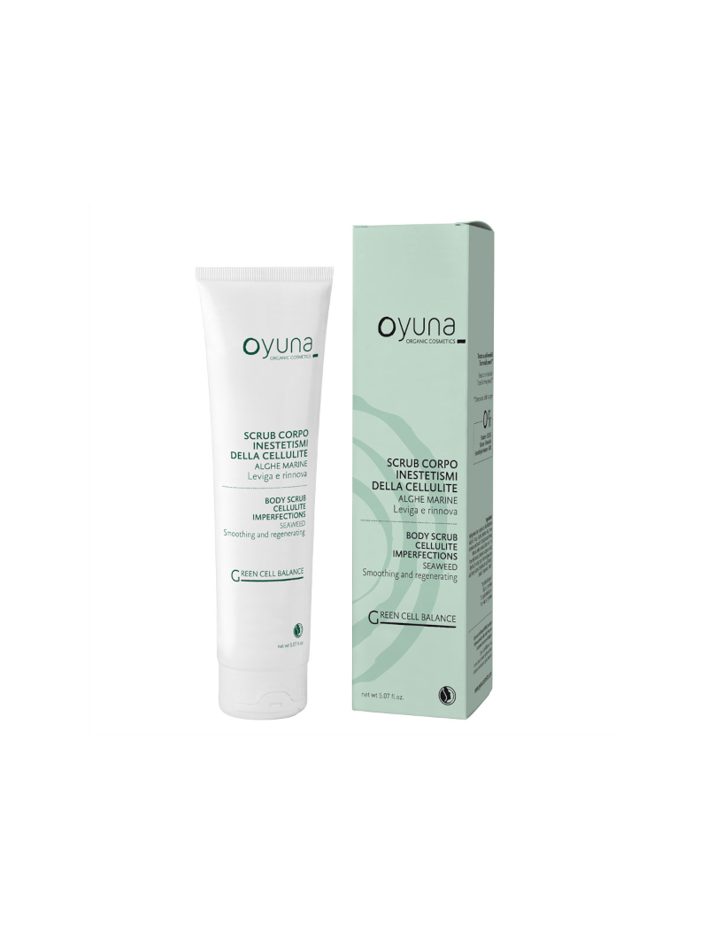 Exfoliante corporal anti-celulitis - Oyuna