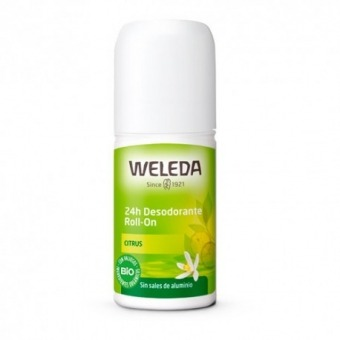 Desodorante roll-on 24 horas citrus - Weleda