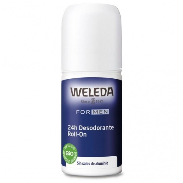 Desodorante roll-on for men 24 horas - Weleda